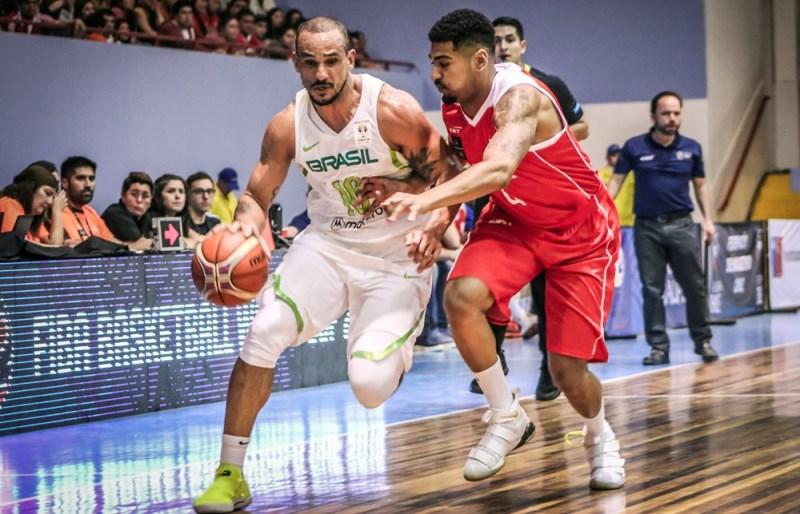 O 'brabo' Alex Garcia foi um dos destaques do Brasil / Foto: FIBA