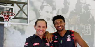 Paulo Skaf e Leandrinho Barbosa / Foto: Ayrton Vignola/Fiesp