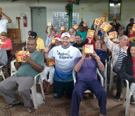 André Brazolin levou alegria para muita gente / Foto: Divulgação/Instituto Brazolin
