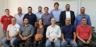 Reunião realizada na sede da LNB definiu os participantes da Liga Ouro / Foto: Divulgação/LNB