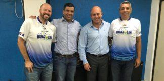 André Brazolin, Maurício Cardozo, Alex Mognon e Júlio Malfi / Foto: Divulgação