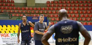 Mogi já trabalha para enfrentar o Pinheiros / Foto: Antonio Penedo/Mogi-Helbor