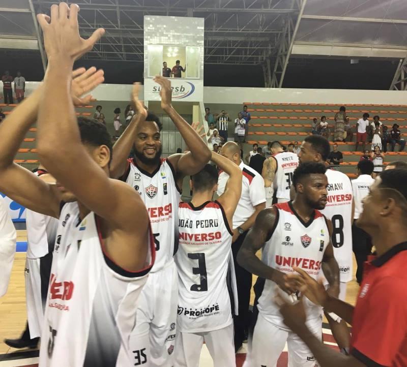 O Universo/Vitória quer o terceiro triunfo consecutivo na temporada / Foto: Divulgação/Universo-Vitória