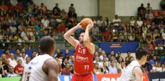 Com 4/6 nos três pontos, Guilherme Hubner foi um dos destaques do CAP / Foto: Antonio Penedo-Mogi Helbor