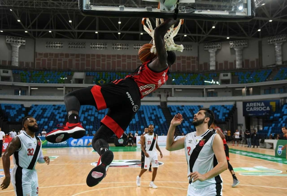 "MJ Rhett saiu do banco e foi ""o cara"" do Flamengo / Foto: Staff Images/Flamengo"