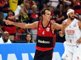 """Com 20 pontos, Marcelinho Machado foi """"o cara"""" da partida / Foto: João Pires/LNB"""