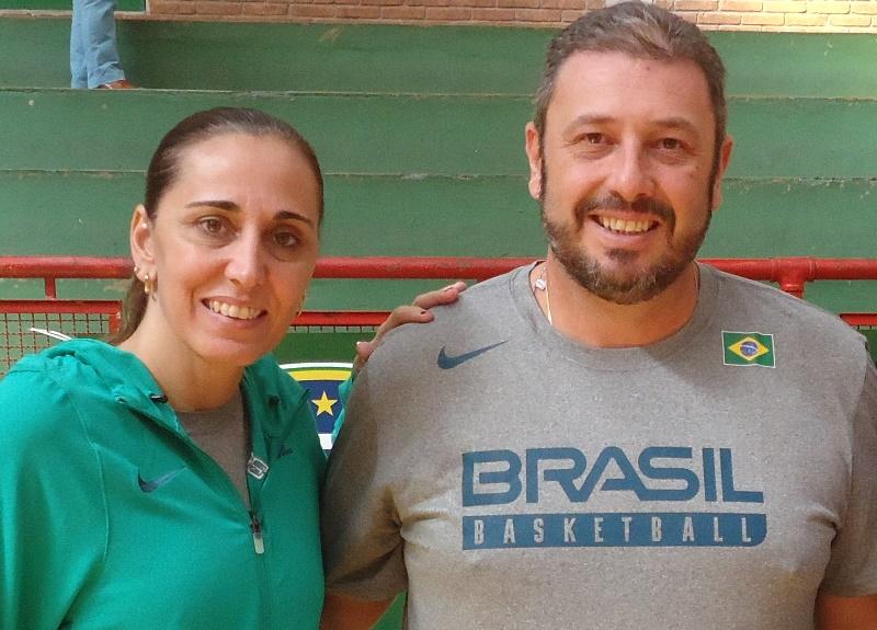 Adriana Santos e Carlos Lima participarão do Fórum / Foto: Divulgação/CBB