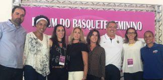 Ícones do basquete feminino compareceram ao Fórum / Foto: Kiko Ross/Databasket