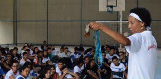 Em São Luís, Janeth Arcain fala a cerca de 140 jovens / Foto: Divulgação
