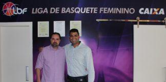 Ricardo Molina e Vlademir Pereira Silva conversaram bastante / Foto: Matheus Moura/LBF