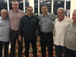 Mauricio Etting, Marcelo Sousa, José Cordeiro Vieira Neto, Sérgio Serra, Antônio Caetano e Rui Salles / Foto: Divulgação/FPB