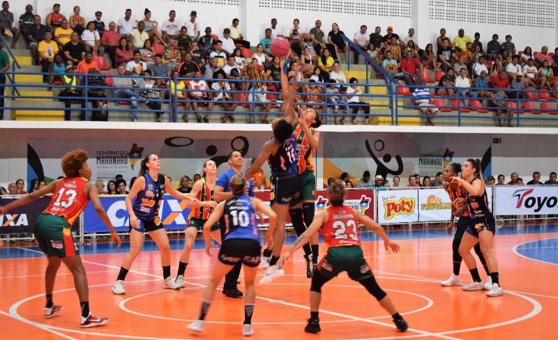 Sampaio usou bem o mando de quadra para vencer bem o Catanduva / Foto: Paulo de Tarso Jr/Sampaio Basquete