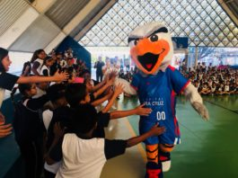 LBF nas Escolas em Campinas contou com a participação de Bennu / Foto: Divulgação-IJA