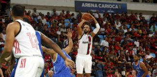 Com 21 pontos. Marquinhos foi um dos destaques rubro-negros na vitória / Foto: Staff Images/Flamengo
