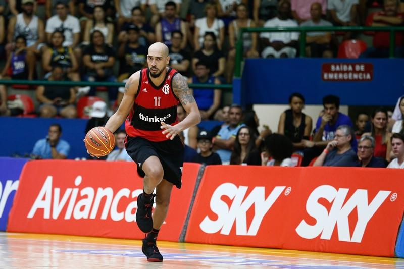 Marquinhos marcou 14 pontos, mas não evitou o revés rubro-negro / Foto: Marcello Zambrana/LNB