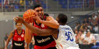 Com 14 pontos, JP Batista foi um dos destaques do Flamengo / Foto: Orlando Bento/Minas TC