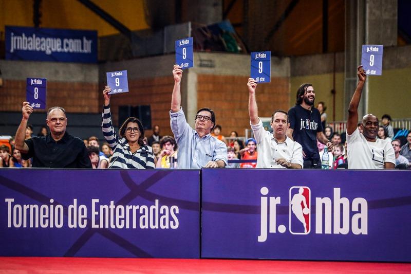 Estrelas do basquete mundial foram os jurados / Foto: William Lucas e Gaspar Nóbrega/Inovafoto