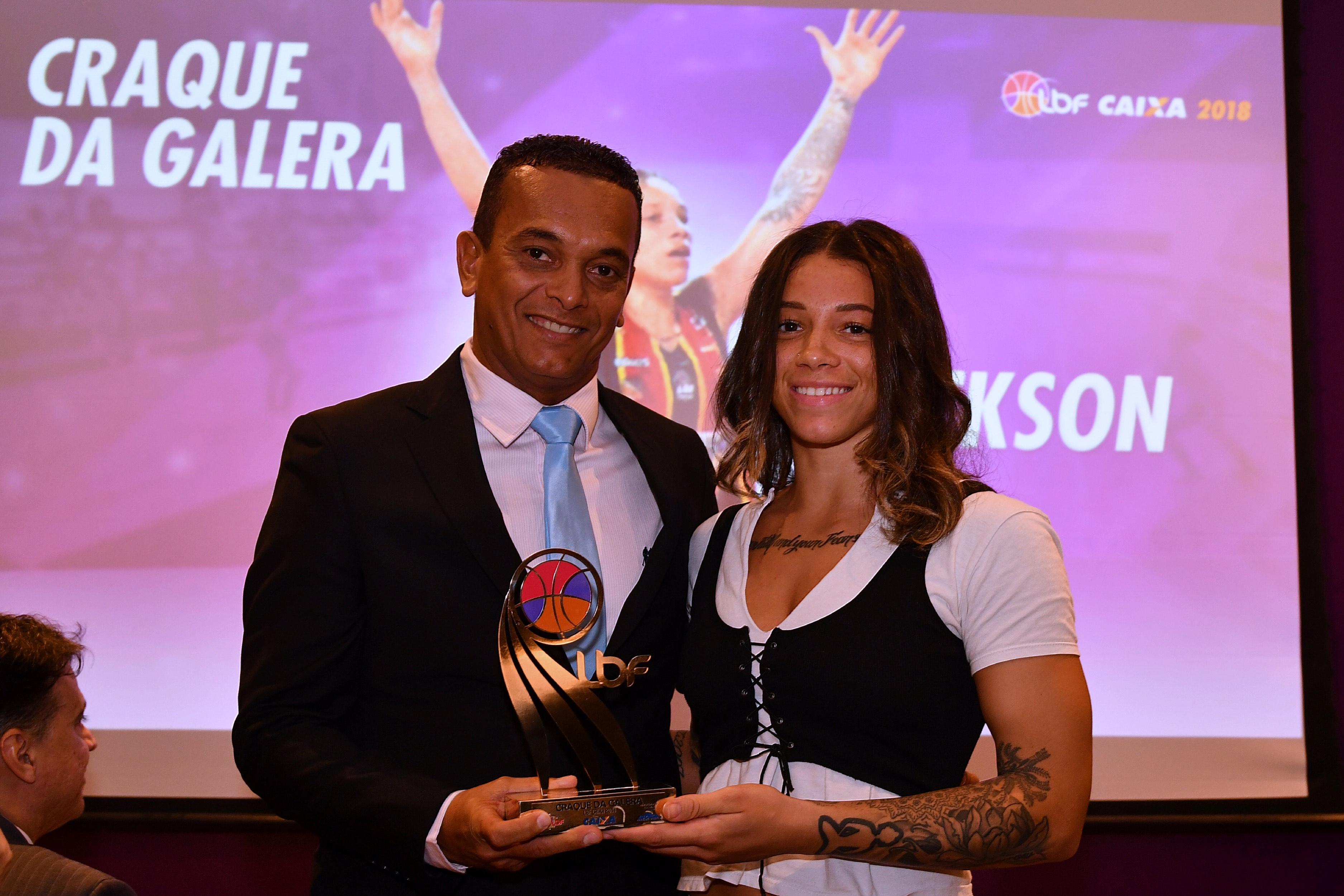 Briahanna Jackson teve mais de 4.600 votos para ser a Craque da Galera / Foto: João Pires/LBF