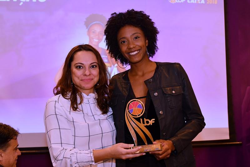 Thayná Silva coroou sua bela temporada com dois troféus / Foto: João Pires/LBF