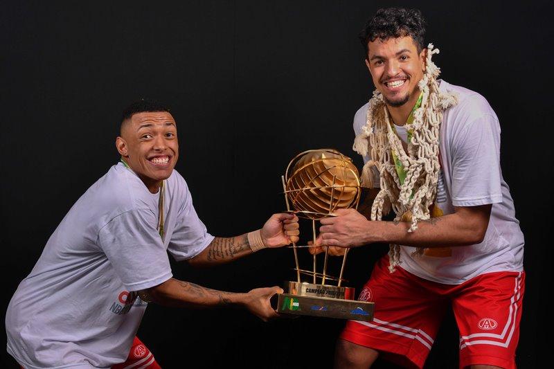 Yago e Lucas marcaram 41 dos 82 pontos do Paulistano no Jogo 04 / Foto: Fotojump/LNB