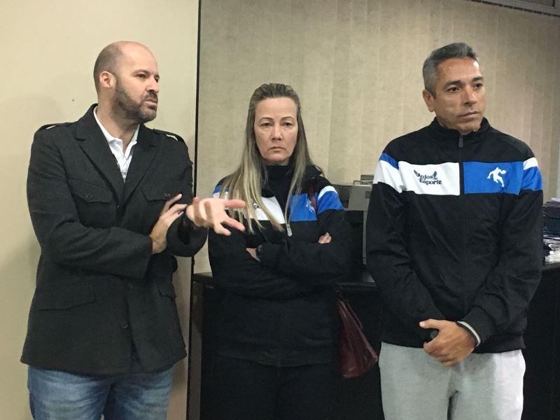 André Brazolin, Monique Poles e Júlio Malfi / Foto: Kiko Ross/ASE