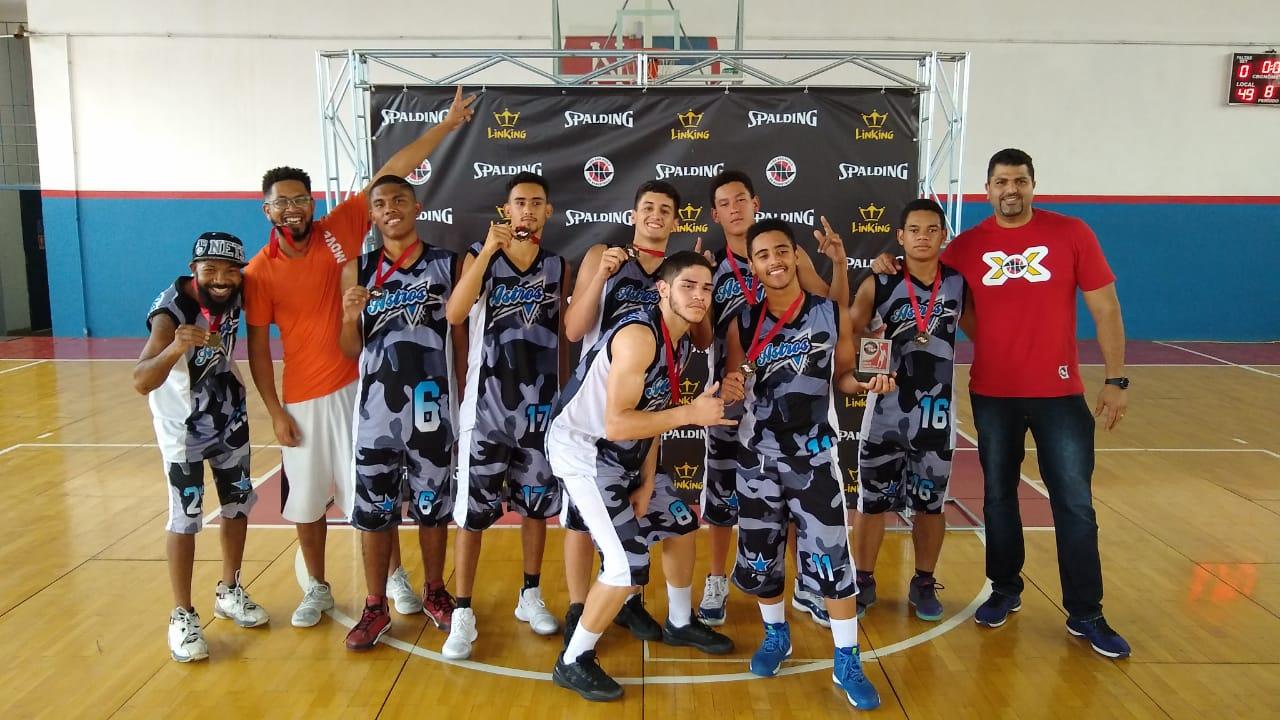 Associação Astros ficou com a terceira colocação / Foto: Divulgação/LSPB