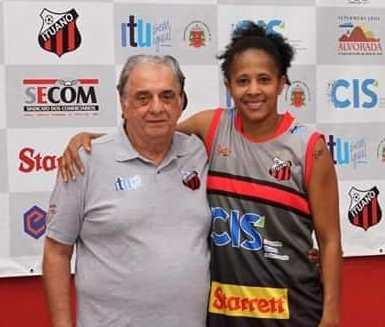 Barbosa e Patrícia / Foto: Divulgação/Ituano FC