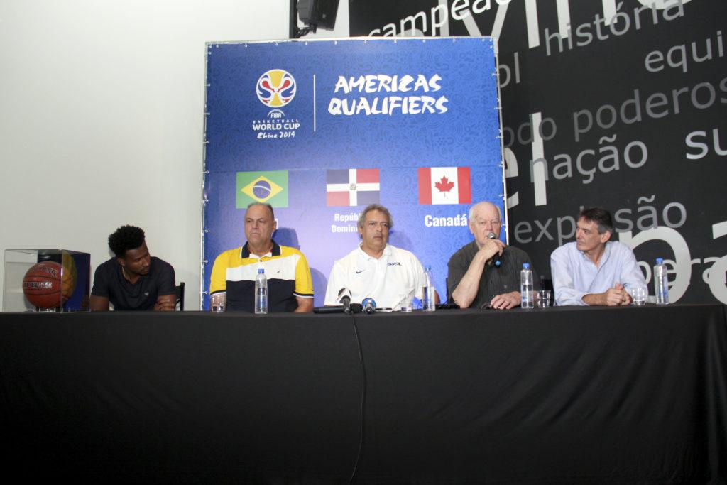 Leandrinho, Oscar, Guy, Wlamir e Mauro / Foto: Jorge Bevilaqua