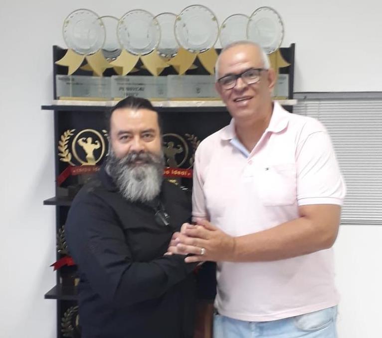 """Marcelo Bella e João """"Padola"""" Monteiro / Foto: Divulgação"""