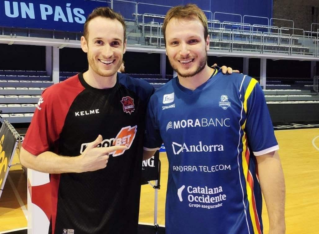 Huertas e Luz tiveram excelente desempenho no duelo entre Baskonia e Andorra pela Liga ACB / Foto: Divulgação
