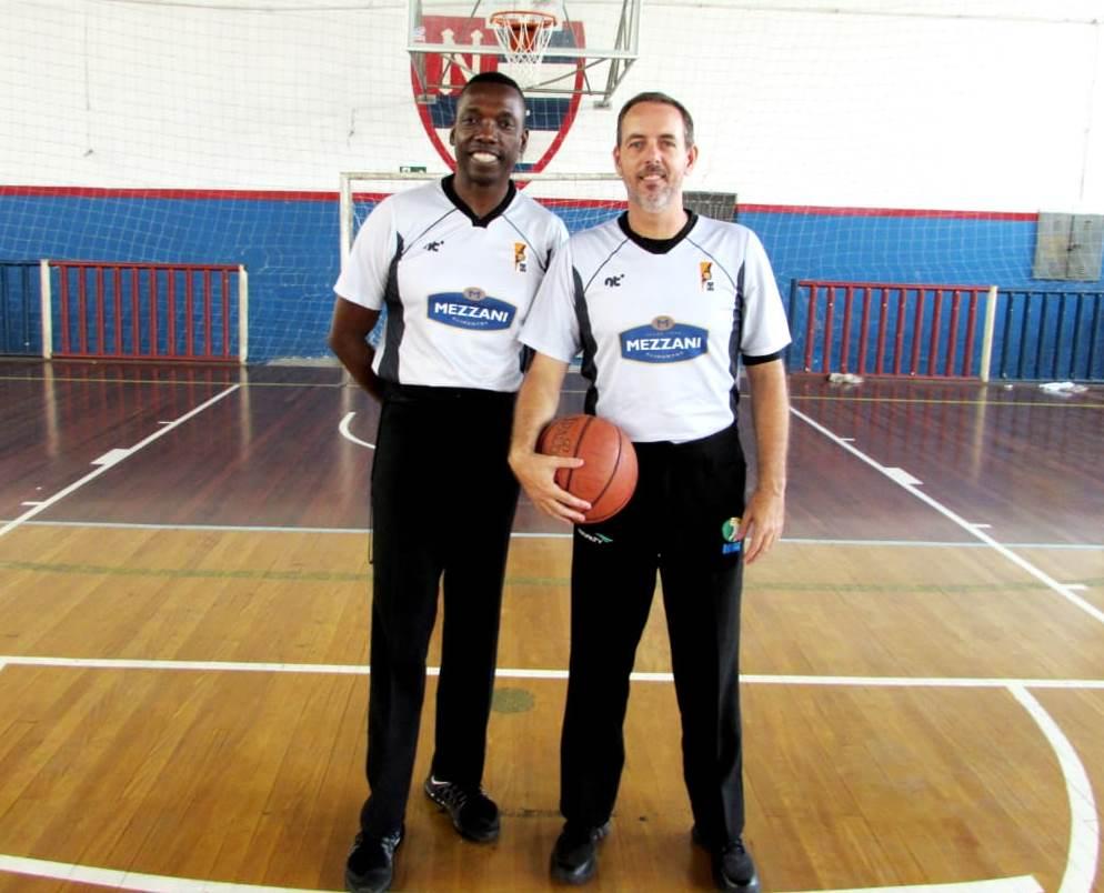 Árbitros renomados, como Sérgio Pacheco e Carlos Renato dos Santos, elevam o nível da LSPB / Foto: Divulgação/LSPB