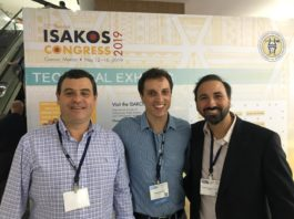 Andreoli, Szeles e Tadiello estiveram em Cancun para acompanhar o importante Congresso / Foto: Divulgação/CBB