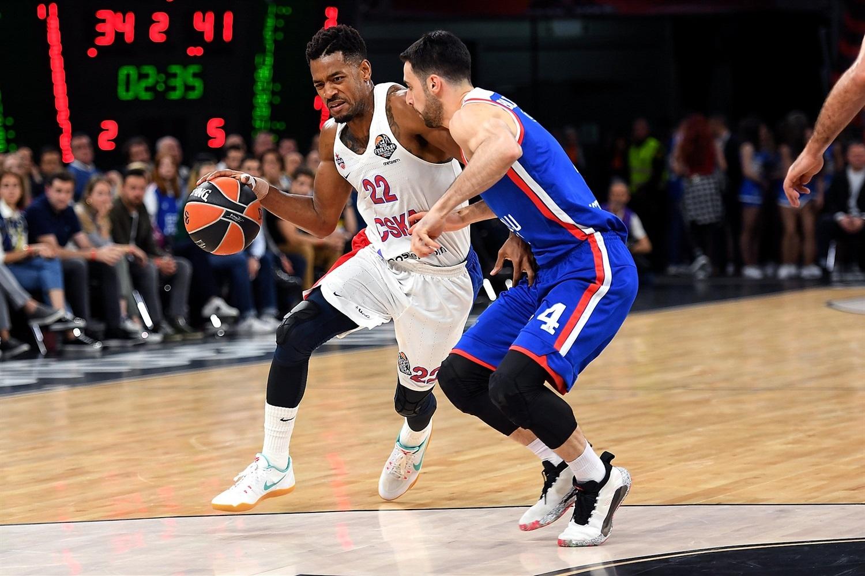 O MVP Will Clyburn foi um dos destaques do CSKA nesta decisão / Foto: Divulgação