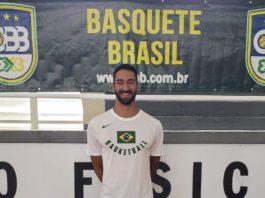 O técnico Luca Carvalho tem boa expectativa para o futuro do Basquete 3x3 brasileiro / Foto: Divulgação/CBB