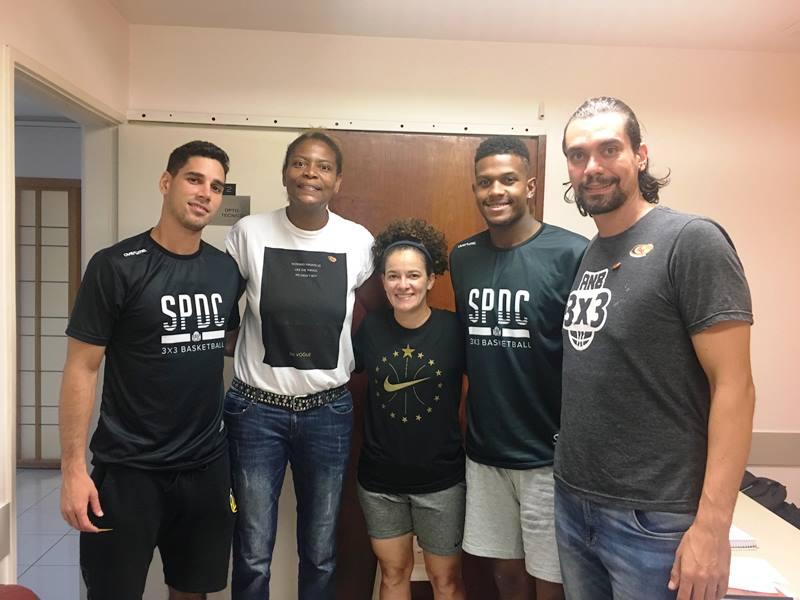 Soriani, Alessandra, Luiz Felipe, Cristal e Vinicius / Foto: Divulgação/FPB