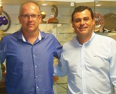 Enyo Correia e Carlos Vicente Andreoli / Foto: Kiko Ross/ASE