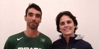 Douglas Lorite e Rafaella Lopes anunciaram os convocados para o Pan de Lima / Foto: Divulgação/CBB