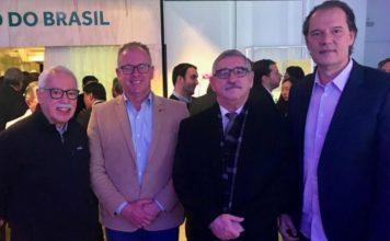 Carlos Osso, Enyo Correia, Décio Brasil, Marco Aurélio Pegolo (Chuí) / Foto: Divulgação