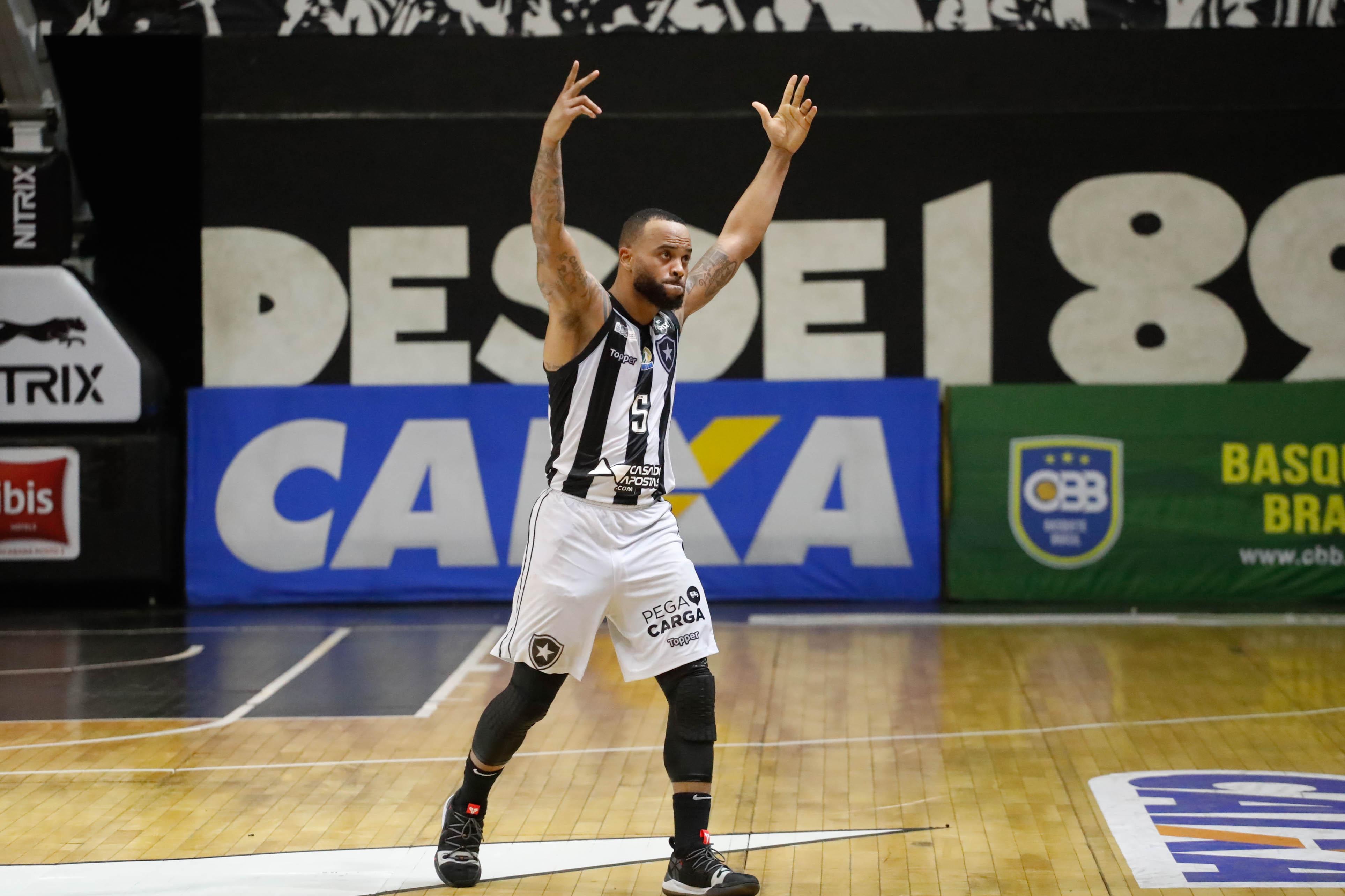 O norte-americano Jamaal Smith foi um dos grandes nomes do Botafogo na temporada passada/ Foto: Gilvan de Souza/LNB