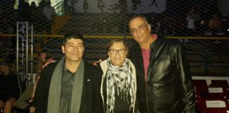 Aildo Rodrigues Ferreira, Simone Bighetti e André Luiz de Almeida em Botucatu / Foto: Divulgação/LBC