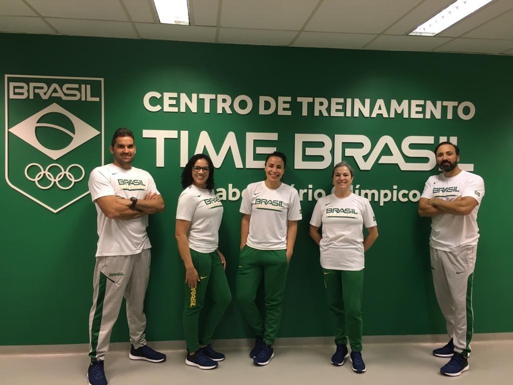 A equipe multidisciplinar da Seleção Brasileira realizou as importantes avaliações com as atletas / Foto: Divulgação/CBB