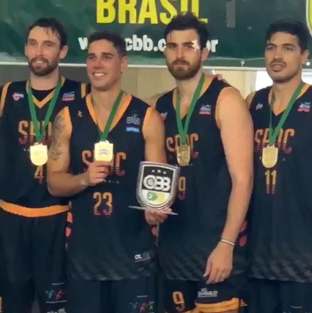 A conquista do Brasileiro garantiu vaga no World Tour de Toronto / Foto: Divulgação/SPDC