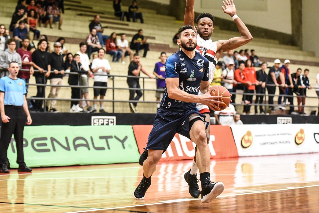Lucas Faggiano foi um dos destaques da equipe do interior / Foto: Victor Lira/Bauru Basket