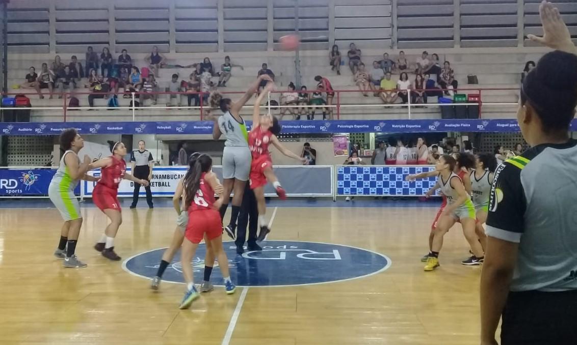 O RD Sports conseguiu um grande rendimento e estreou vencendo o Náutico / Foto: Divulgação/CBB