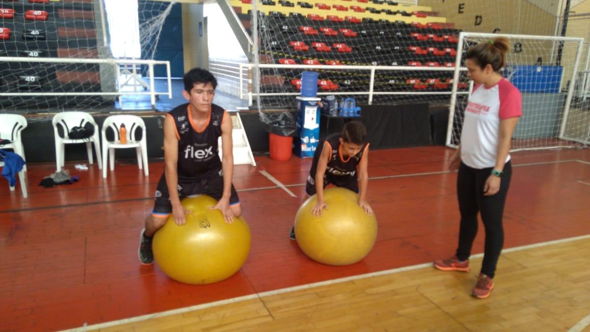 Trabalho de prevenção com os atletas da base da LSB/PMS/Flex / Foto: Marina Gouvêa/LSB
