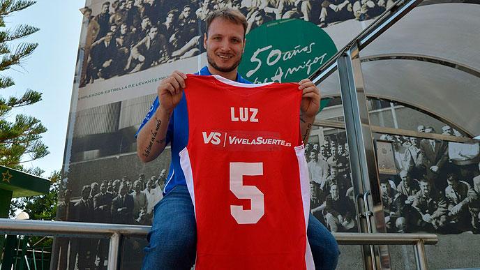 Rafael Luz está se adaptando muito bem a UCAM Murcia / Foto: Divulgação