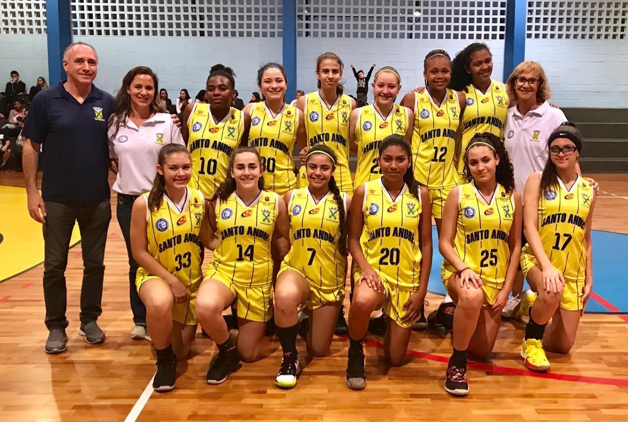 Atuação coletiva da equipe sub-15 agradou a técnica Arilza Coraça / Foto: Divulgação-Santo André