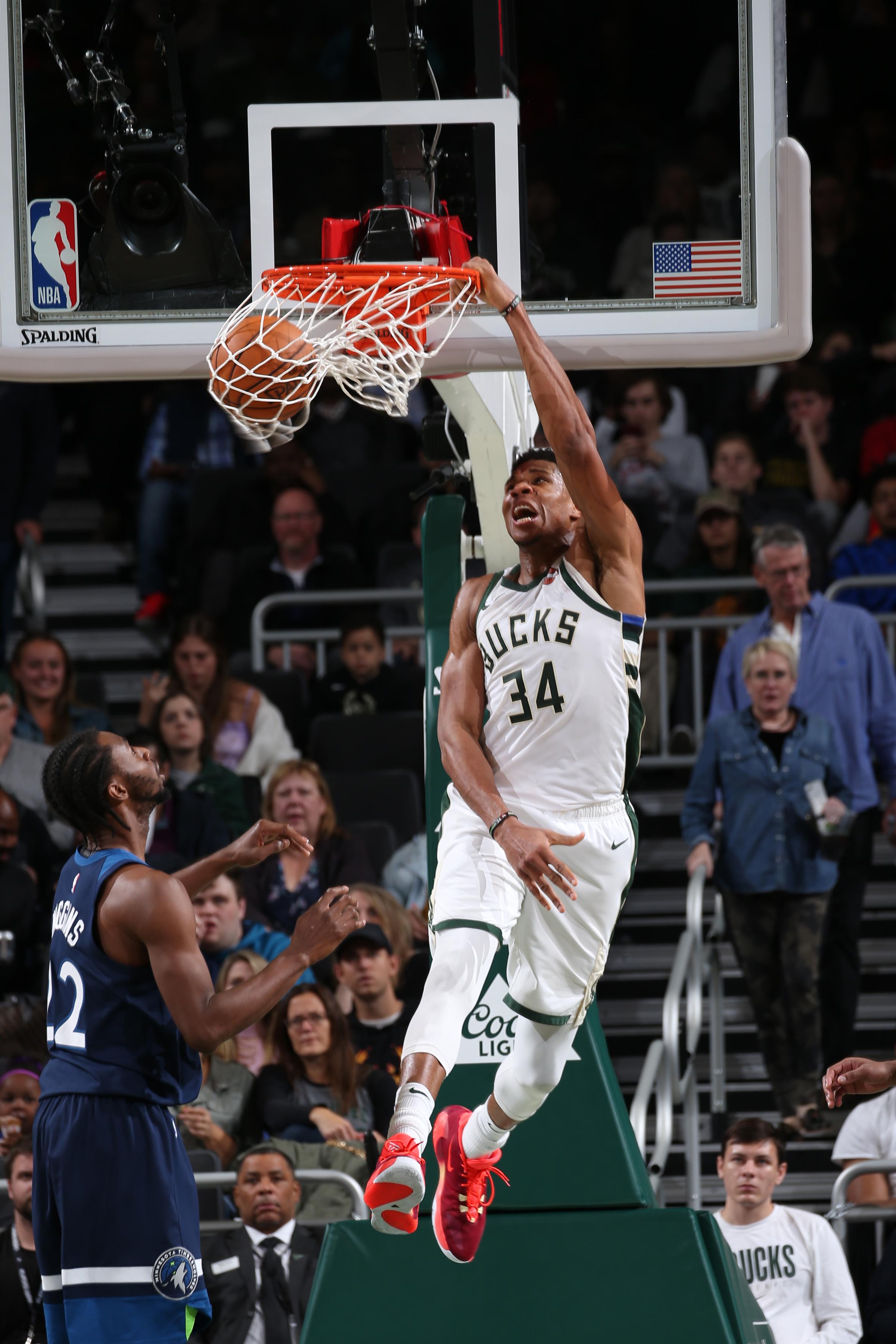 Antetokounmpo, do Milwaukee Bucks, foi o 'MVP' da temporada passada / Foto: NBAE/Getty Images