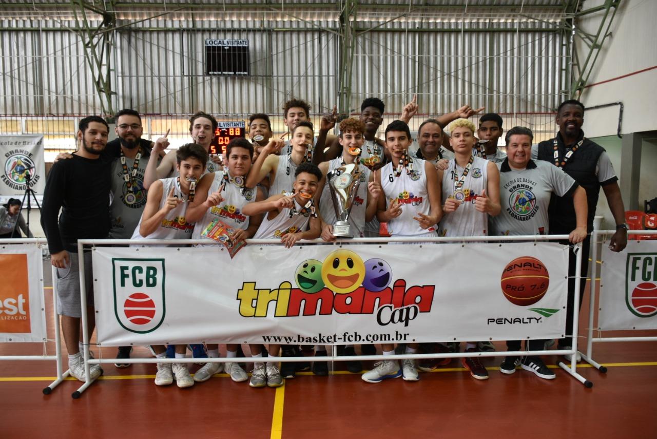 O Grande Florianópolis Basket teve excelente participação na Copa Brasil / Foto: Divulgação
