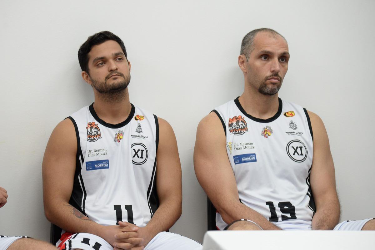 Gabriel Souza e William Drudi deram o toque de experiência a equipe de Tatuí / Foto: PMT-AI/Divulgação